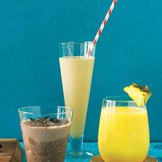 Peanut Butter Banana Blast Smoothie and more healthy peanut butter smoothie recipes on MyNaturalFamily.com #smoothie #recipe
