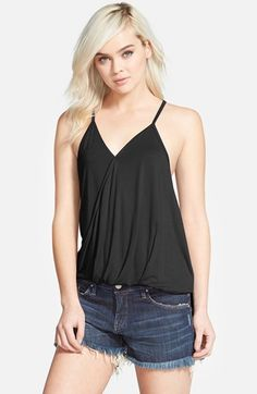 Women's Leith Draped Knit Top