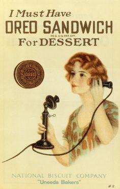 Vintage Oreo Advert!
