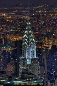 The Chrysler Building, NYC - Explored! :D 1/12/2012 by Jason Pierce Photography, via Flickr