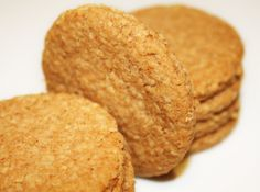 Recette Anglaise : Les Hobnobs , gateaux secs aux flocons d'avoine