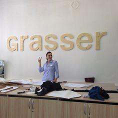 Вероника Бушаева. Наставник, путеводная звезда и кладезь оптимизма. С утра на работе)))  #sewing_life #grasser #sewing_school #sewing_courses