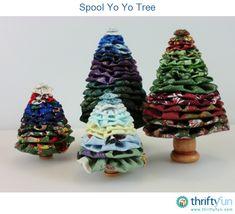 ~ Yo-Yo Trees ~ so cute....