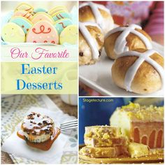 Favorite Easter Desserts Ideas. Enjoy your favorite desserts this Easter with Stagetecture's archive recipes. #Easter #dessert #recipe