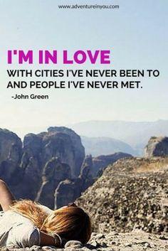 john green travel quote