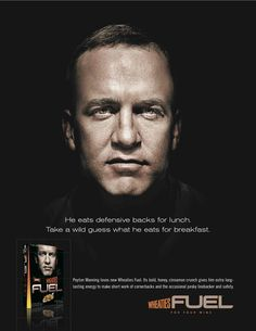 297c2ab07532 This print ad was part of a campaign created to introduce Wheaties Fuel