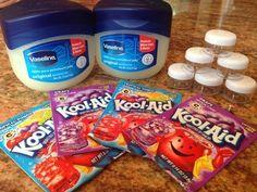 How to make Kool-Aid lip gloss