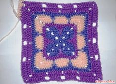 Tığ İşi Kare Motif Yapımı Anlatımlı - Mimuu.com Knit Patterns, Diy And Crafts, Blanket, Knitting, Inspiration, Afghan Crochet, Round Shag Rug, Pattern, Knitting Patterns