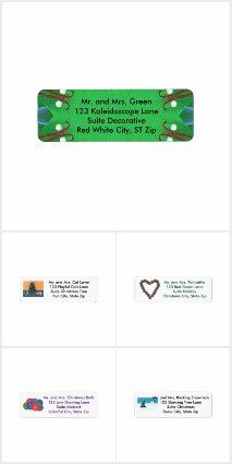 find christmas return address labels that have templates for you to easily customize the address cherylsart christmas pinterest christmas