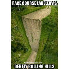 Comical Look at the Secret to Decoding Race Course Descriptions - RunToTheFinish Running Club, Running Humor, Running Quotes, Running Motivation, Running Workouts, Running Tips, Trail Running, Funny Running Memes, Running Facts
