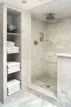 Bathrooms With Half Wall Ideas