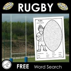 A fun activity for your students. Find the words that are hidden in the rugby ball shape.Made on A4 size paper. ********************************************************************** © Suzanne Welch Teaching Resources TpT creditsEarn TpT credits by providing feedback on this product after you purch... Free Teaching Resources, School Resources, Teaching Kids, Classroom Activities, Fun Activities, Free Word Search, Spelling Words, Primary School, Rugby