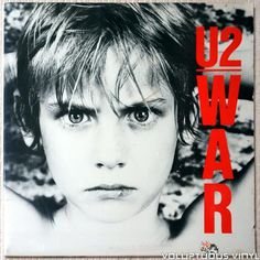 War is the third album from Irish rock band The album was a big success knocking Michael Jackson's Thriller from the top of the charts in the UK and becoming first number one album in the UK. Greatest Album Covers, Iconic Album Covers, Music Album Covers, U2 Music, Music Like, Rock Music, Lp Cover, Vinyl Cover, Cover Art