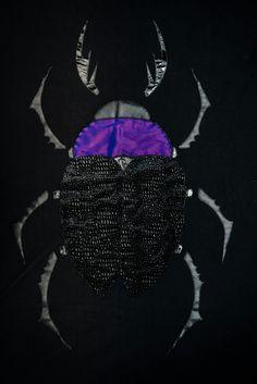 Violet beetle blanket