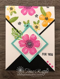 Pretty Perennials One Sheet Wonder Cards - Stampin' Studio One Sheet Wonder, Perennials, Stampin Up, Birthday Cards, About Me Blog, Sketches, Studio, Pretty, Layouts