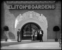 This structure was up for 40Years, on 38th and Tennyson, It was replaced in 1958, with the Neon Elitch's Arch.