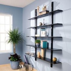 Woodworking Projects Man Cave How to Build Suspended Bookshelves.Woodworking Projects Man Cave How to Build Suspended Bookshelves Build A Murphy Bed, Murphy Bed Plans, Bookcase Plans, Built In Bookcase, Bookshelf Ideas, Bookcases, Modern Bookshelf, Floating Bookshelves, Shelving Ideas