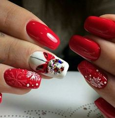 Red Nail Designs 2020 Idea 59 christmas nail art ideas for early 2020 nails design Red Nail Designs Here is Red Nail Designs 2020 Idea for you. Red Nail Designs 2020 59 christmas nail art ideas for early 2020 nails design. Nail Art Pastel, Nail Art Cute, Red Nail Art, Purple Nail, Xmas Nails, Holiday Nails, Red Nails, Fall Nails, Disney Christmas Nails