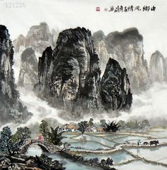 Mountain and Water, Shen Ling Xiang