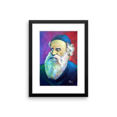 The Alter Rebbe Framed Prints, Art Prints, Alters, Painting, Home Decor, Products, Art Impressions, Decoration Home, Room Decor