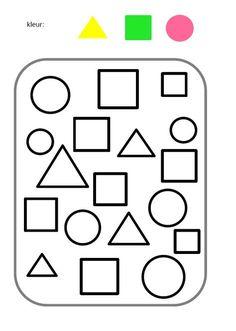 Atividade Infantil Formas Geometricas