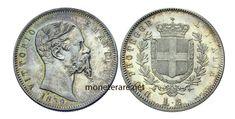 2 Lire: Valore, Curiosità e Rarità delle Monete da 2 Lire Italiane   MoneteRare.net Lus, Coins, Personalized Items, Italian Lira, Rooms