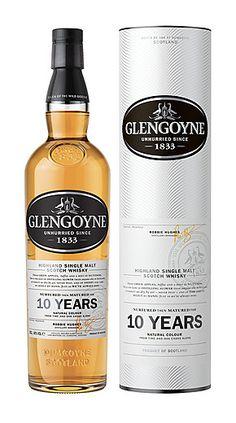 Whiskey 12/40 : Glengoyne 10 Year Old Highland Single Malt Scotch Whisky