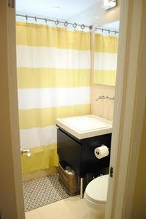 Most Design Ideas Gray Yellow Bathroom Pictures, And Inspiration – Modern House White Bathroom Paint, Yellow Bathroom Decor, Yellow Bathrooms, Modern Bathroom Decor, Bathroom Layout, Bathroom Wall Decor, Small Bathroom, Bathroom Ideas, Bathroom Organization