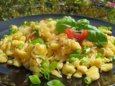 Spatzle, Pasta Salad, Risotto, Ethnic Recipes, Food, Crab Pasta Salad, Essen, Meals, Yemek