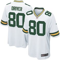 Youth White Nike Game Green Bay Packers #80 Donald Driver Color NFL Jersey$59.99