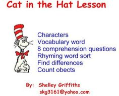 Cat in the Hat Lessons