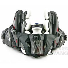 Simple Design Multifunctional Inline Skating Bag , Man's FSK Inline Skates Bagpack