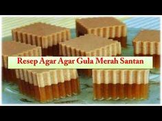 Coconut Milk Brown Sugar Agar-Agar | MyKitchen101en - YouTube