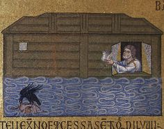 15. Noah Sending Dove rom Ark (San Marco, Venice) by Ark in Time, via Flickr