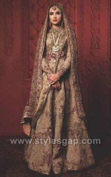 Dec 2019 - Fahad Hussayn Latest Pakistani Designer Bridal Dresses 2019 Designs Collection consists of heavenly embroidered lehengas, gowns, maxis, frocks, Bridal Dresses 2018, Desi Wedding Dresses, Bridal Gowns, Wedding Outfits, Indian Bridal Lehenga, Pakistani Bridal Wear, Pakistani Wedding Dresses, Pakistani Couture, Indian Bridal Outfits