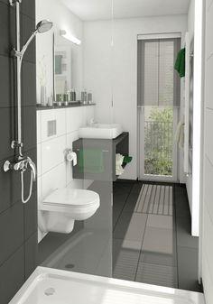 badezimmer halbhoch gefliest bodenfliesen keraben future 60x60 cm mit an der einrichten und. Black Bedroom Furniture Sets. Home Design Ideas