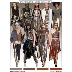 RangeRoom BLOG SNEAK PEAK - SS17 TREND - MIXED METALS Antiqued tones of golds bronzes and coppers also look strong especially when mixed together as at Haider Ackermann. Across categories still strong in more evening looks but feeling newer in more casual looks vests and t-shirt dresses. . . #rangeroom #b2b #fashiontech #fashionblog #dontmissout #designer #buyer #retailer #wholesaler #supplier #progression #connect #collaborate #trade #fashionforecast #fashionforward #trend #runwaytoretail