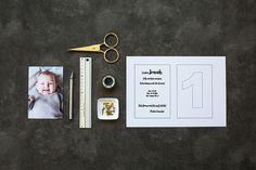 Bebe 1 An, Baby Birthday Card, Boy Toddler Bedroom, Diy Gift Box, Diy Invitations, Party Time, Easy Diy, Frame, Creative