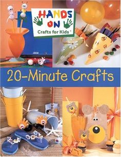 "Based on the PBS television program ""Hands On,"" and created for the crafting pleasure of 7 to 12-year-olds and their parents, these imaginative projects banish boredom while reinforcing concepts learned at school. ""Full of interesting animal and nature-themed projects....The 48 activities all include lists of materials needed, full-size patterns, and color photographs of the completed objects...a good choice.""—School Library Jou..."