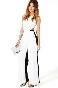 Light Divide Jumpsuit
