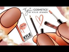tutorial: miniature lip liner and gloss by Kylie Doll Videos, Eos Lip Balm, Kylie Lip Kit, Doll Home, Baby Doll Clothes, Barbie Accessories, Doll Tutorial, Diy Dollhouse, Miniture Things