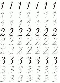 Okul öncesi Sayı çalışmaları 1 2 3 Rakam Yazma 1 10 Arası Sayma