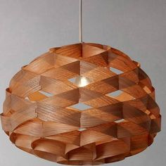 wooden lamp shade - Google Search