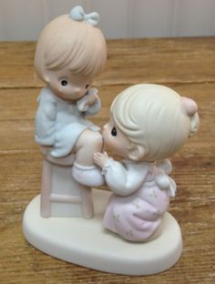 Precious Moments Figurine You Are Always There for Me