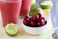 Ingredients in Cherry Coconut Smoothie