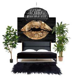 """Untitled #100"" by alexandragabriela2 on Polyvore featuring interior, interiors, interior design, home, home decor, interior decorating, Oliver Gal Artist Co., Nearly Natural and De La Espada"