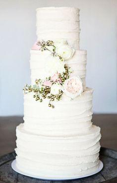 Botanical Winter Wedding Cakes