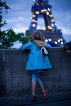 Paris                            France                            Eiffel Tower                            cute                            kids