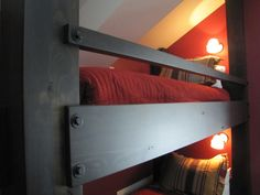 Twin Bunk Bed Detail