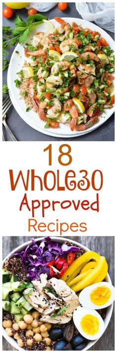 18 fresh and healthy whole30 recipe ideas